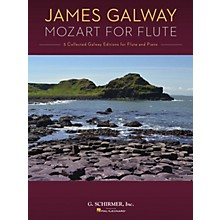 G. Schirmer Mozart for Flute (5 Collected Galway Editions for Flute and Piano) Woodwind Solo Series Softcover