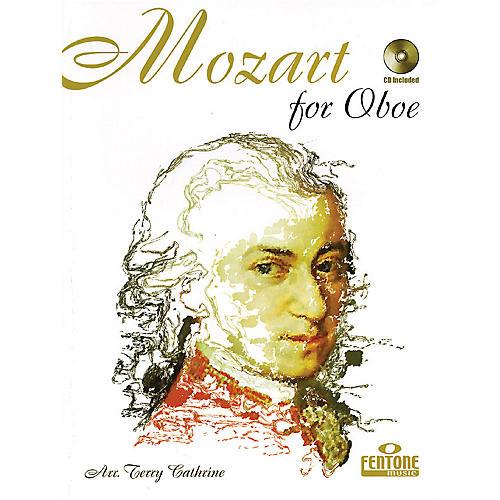 Fentone Mozart for Oboe (Classical Instrumental Play-Along (Book/CD Pack)) Fentone Instrumental Books Series