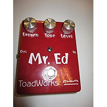 Toadworks Mr.ed Effect Pedal