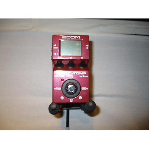 Zoom Ms-60b Bass Effect Pedal