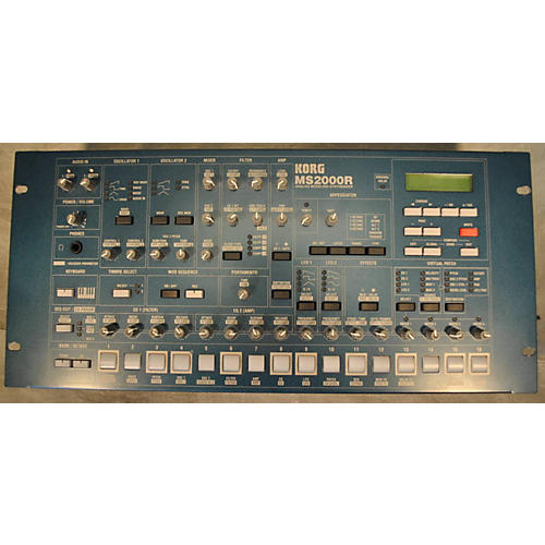 Korg Ms2000r Baltic Blue Synthesizer