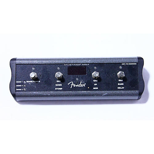 Fender Ms4 Footswitch Pedal