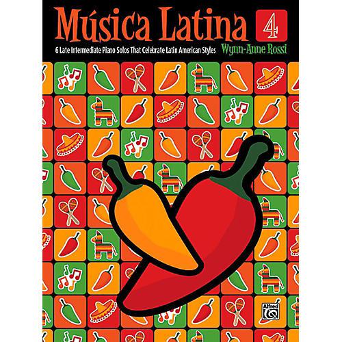 Alfred Mºsica Latina, Book 4 - Late Intermediate