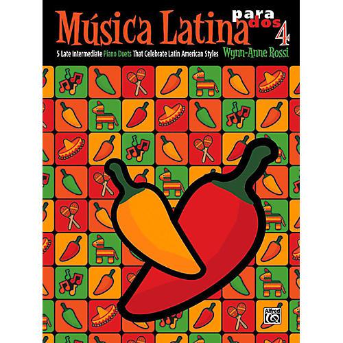 Alfred Mºsica Latina para Dos, Book 4 - Late Intermediate