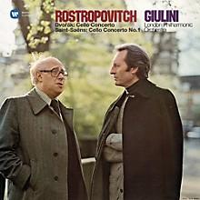Mstislav Rostropovich - Cello Concerto & Saint-Saens / Cello Concerto No 1