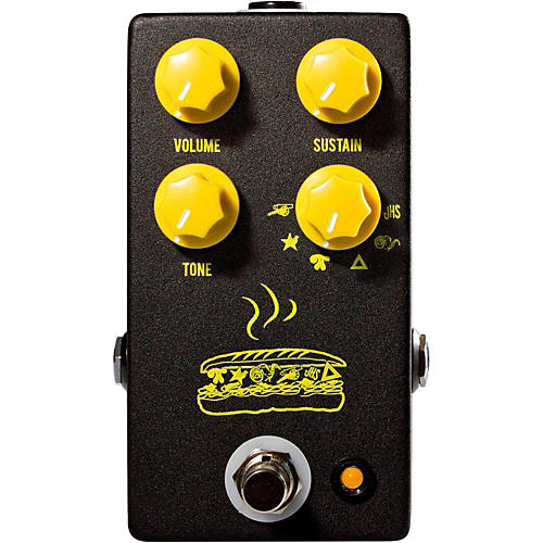 jhs pedals muffuletta distortion fuzz guitar effects pedal guitar center. Black Bedroom Furniture Sets. Home Design Ideas