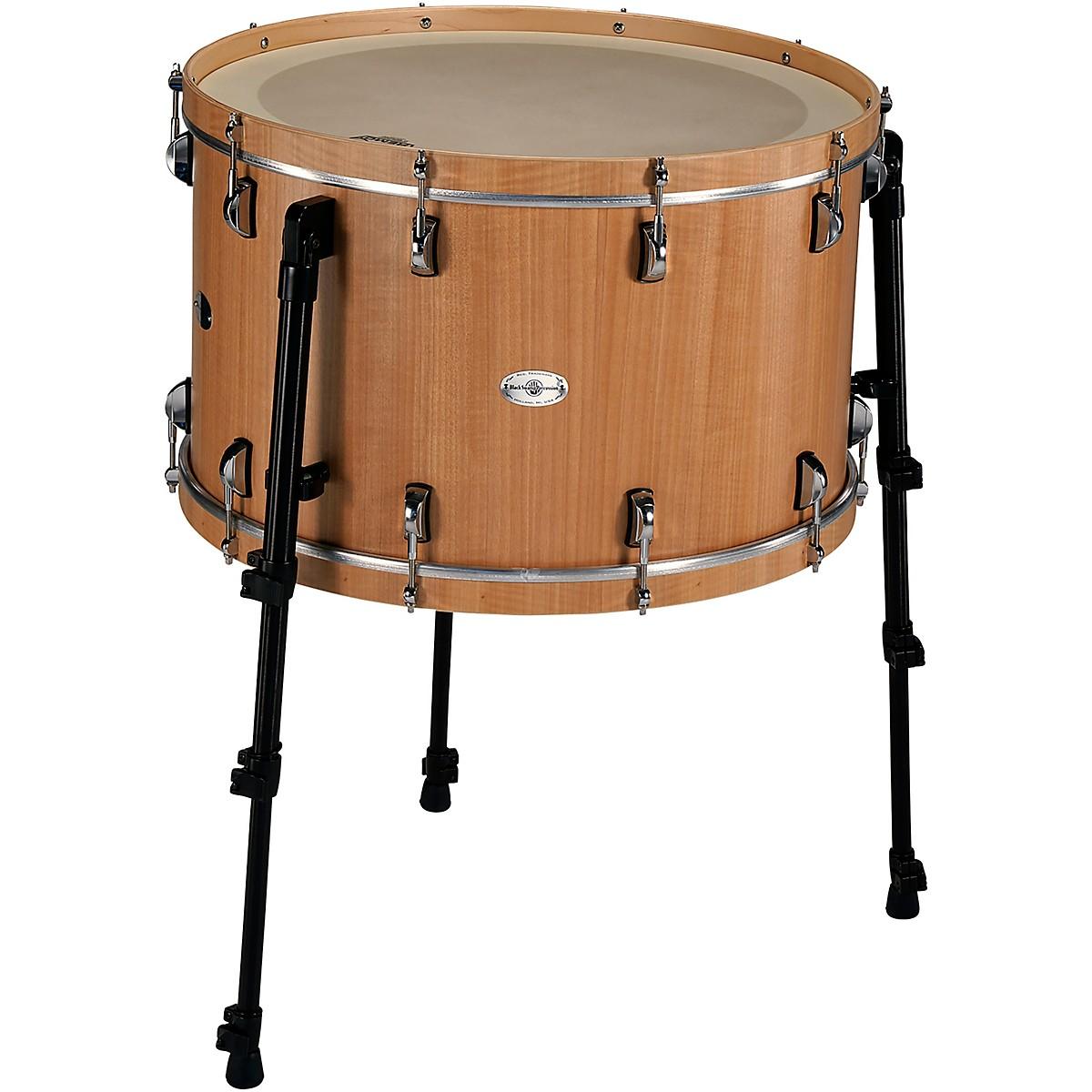 Black Swamp Percussion Multi-Bass Drum in Figured Anigre Veneer
