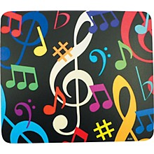 AIM Multi-Color Music Notes Mousepad