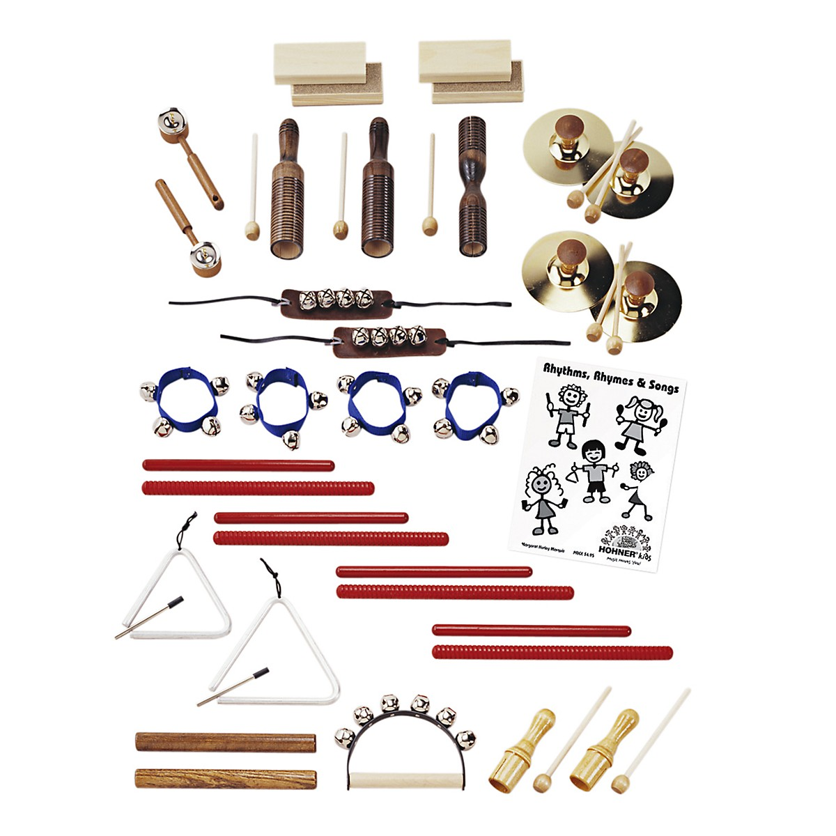 Hohner Multi-Timbre Rhythm Instrument Set