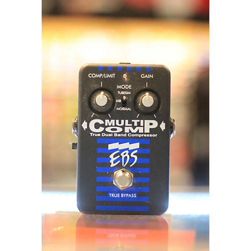 EBS MultiComp True Dual Band Compressor Bass Effect Pedal