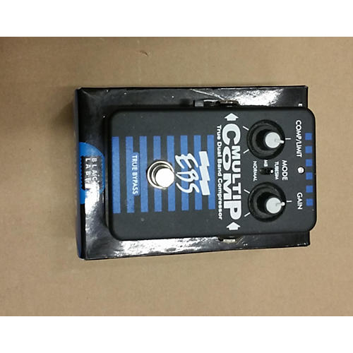 EBS MultiComp True Dual Band Compressor Bass Effect Pedal