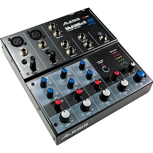 Alesis MultiMix 6 USB Mixer