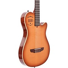 Multiac Grand Concert Duet Ambiance Nylon String Acoustic-Electric Guitar Level 2 High Gloss Lightburst 190839578402