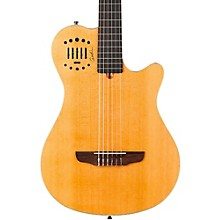 Multiac Grand Concert Duet Ambiance Nylon String Acoustic-Electric Guitar Level 2 High Gloss Natural 888365479347
