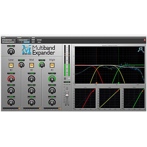 METRIC HALO Multiband Expander for Pro Tools AAX