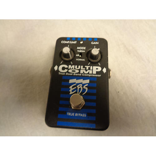 EBS Multicomp Compressor Bass Effect Pedal