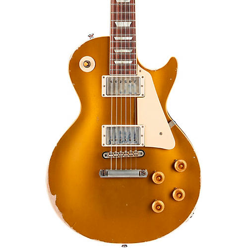 Gibson Custom Murphy Lab 1957 Les Paul Goldtop Reissue Ultra Heavy Aged Electric Guitar