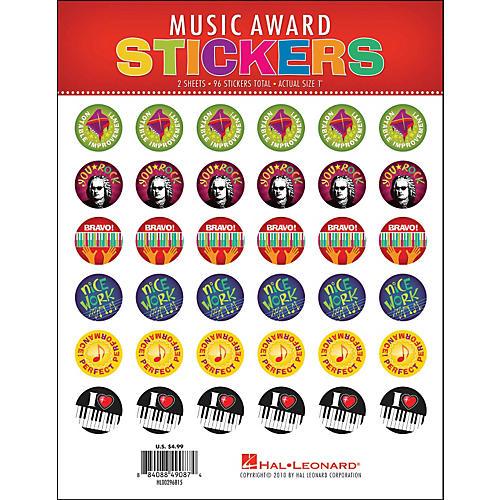 Hal Leonard Music Award Stickers Package