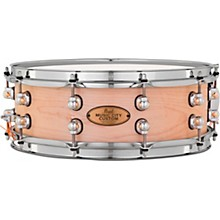 Music City Custom Solid Shell Snare Maple in Hand-Rubbed Natural Finish 14 x 5 in.