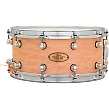 Music City Custom Solid Shell Snare Maple in Hand-Rubbed Natural Finish 14 x 6.5 in.