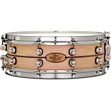 Music City Custom Solid Shell Snare Maple with Kingwood Center Inlay 14 x 5 in.