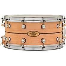 Music City Custom Solid Shell Snare Maple with Kingwood Center Inlay 14 x 6.5 in.