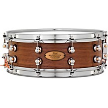 Music City Custom Solid Shell Snare Walnut in Hand-Rubbed Natural Finish 14 x 5 in.