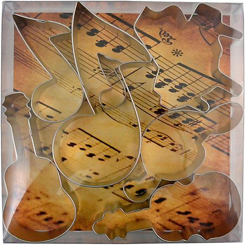 AIM Music Cookie Cutter Set - 7 Pieces