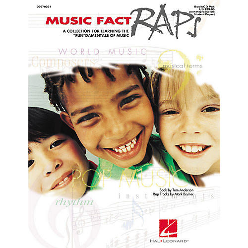 Hal Leonard Music Fact Raps (Book/CD Pack) Arranged by Mark Brymer