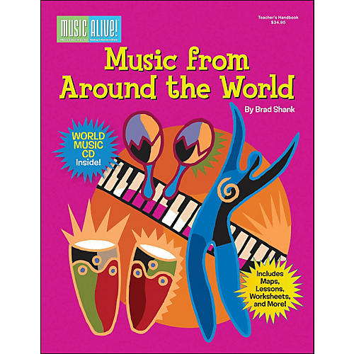 Cherry Lane Music From Around The World Book/CD