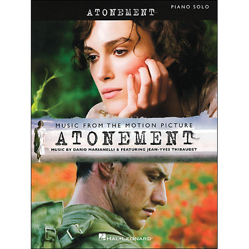 Hal Leonard Music From The Motion Picture Atonement arranged for piano solo