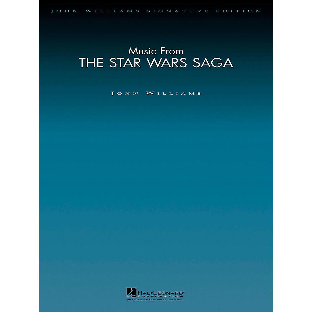 Hal Leonard Music From The Star Wars Saga - John Williams Signature Edition Orchestra Score and Parts