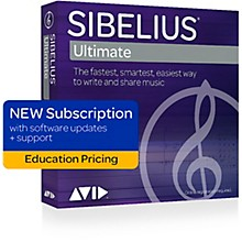 Sibelius Music Notation Software Subscription Education Version