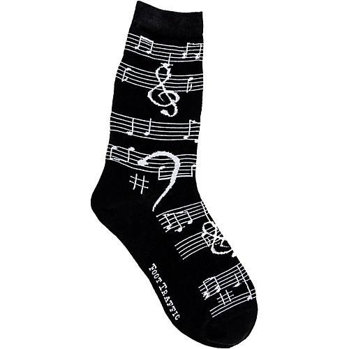 Foot Traffic Music Notes Women's Socks