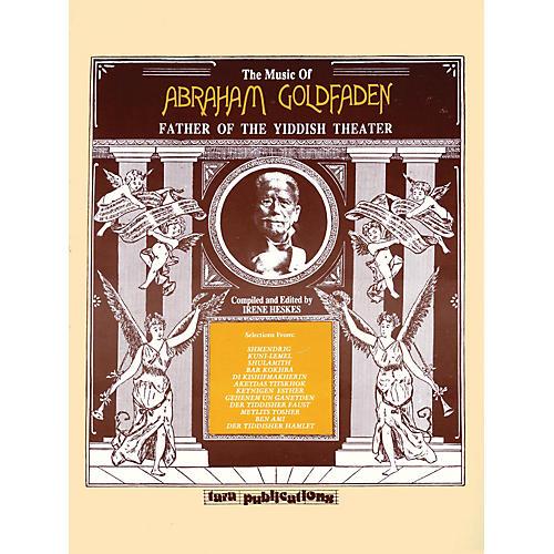Hal Leonard Music Of Abraham Goldfaden Tara Books Series