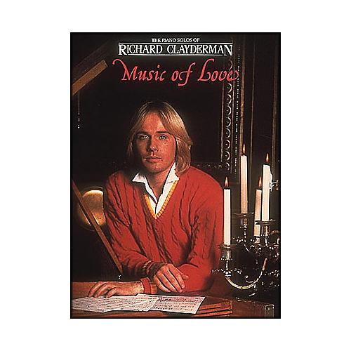 Hal Leonard Music Of Love Piano Solos - Richard Clayderman