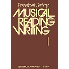 Editio Musica Budapest Music Reading and Writing (Teacher Book (Lessons 1-50)) EMB Series Softcover by Erzsébet Szönyi