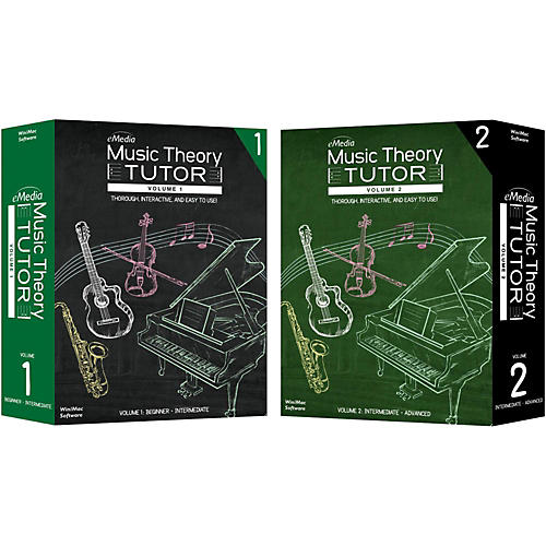 eMedia Music Theory Tutor Complete - Macintosh