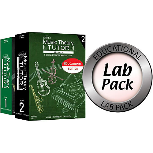 Emedia Music Theory Tutor Lab Pack for 20 Computers