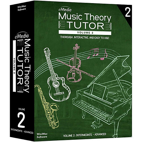 Emedia Music Theory Tutor Volume 2