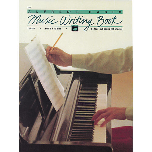 Alfred Music Writing Book (9 x 12) 12-Stave