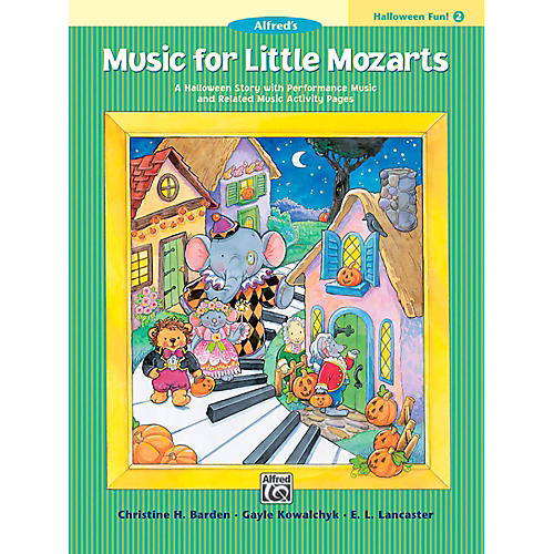 Alfred Music for Little Mozarts: Halloween Fun Book 2