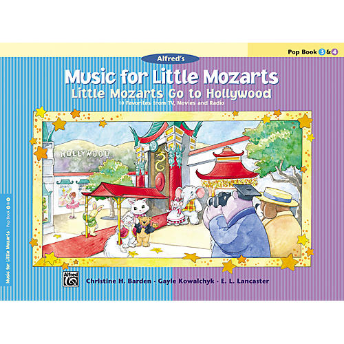 Alfred Music for Little Mozarts: Little Mozarts Go to Hollywood Pop Book 3 & 4