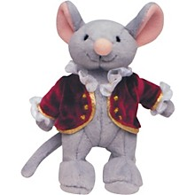 Alfred Music for Little Mozarts Plush Toy -- Mozart Mouse (Level 1-4)
