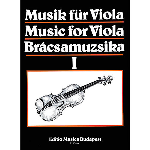 Editio Musica Budapest Music for Viola - Volume 1 EMB Series by Various