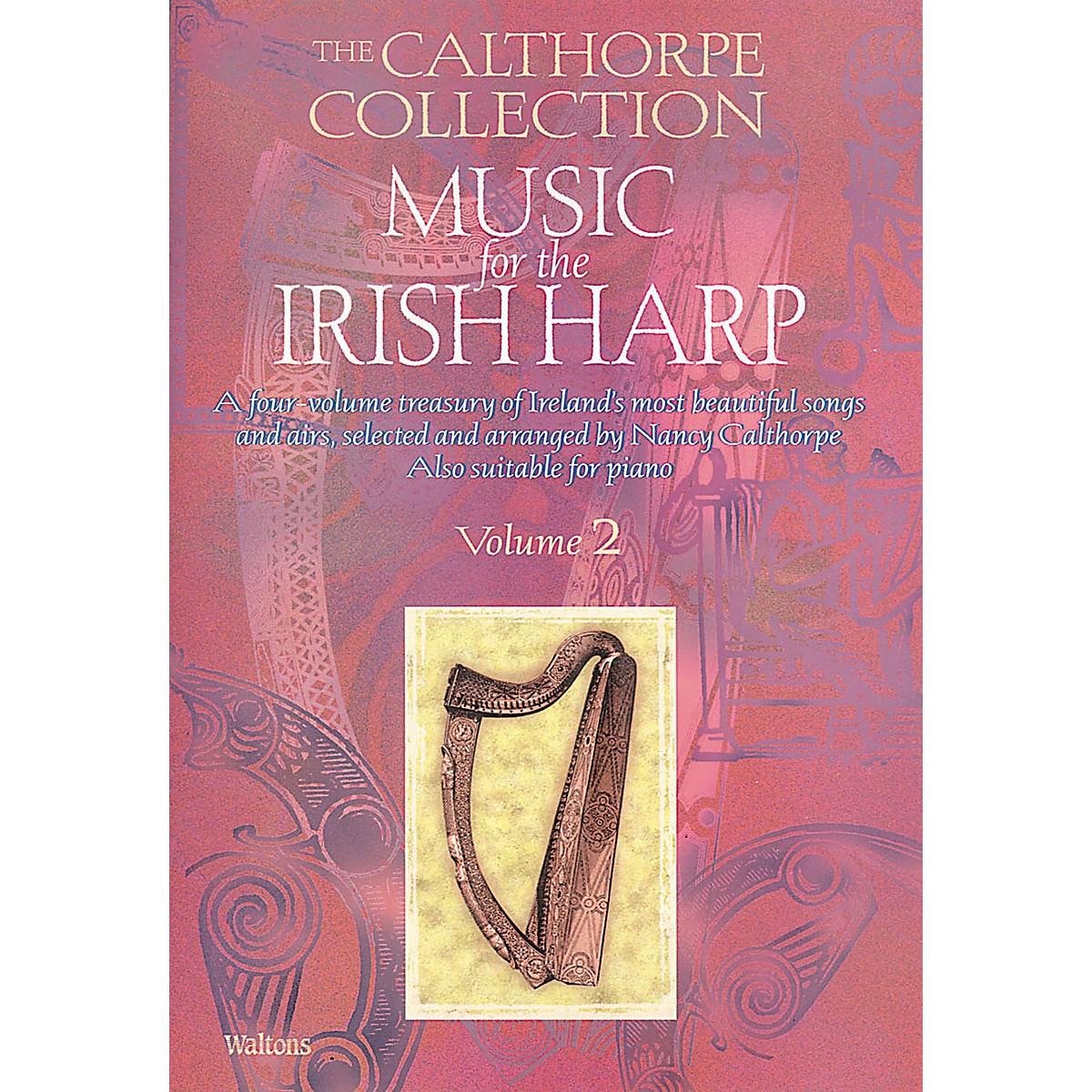 Waltons Music for the Irish Harp - Volume 2 Waltons Irish Music Books Series Softcover Written by Nancy Calthorpe