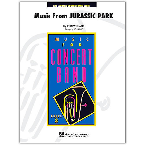 Hal Leonard Music from Jurassic Park - Young Concert Band Level 3