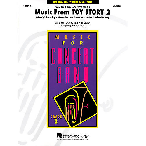 Hal Leonard Music from Toy Story 2 - Young Concert Band Level 3 by Jay Bocook