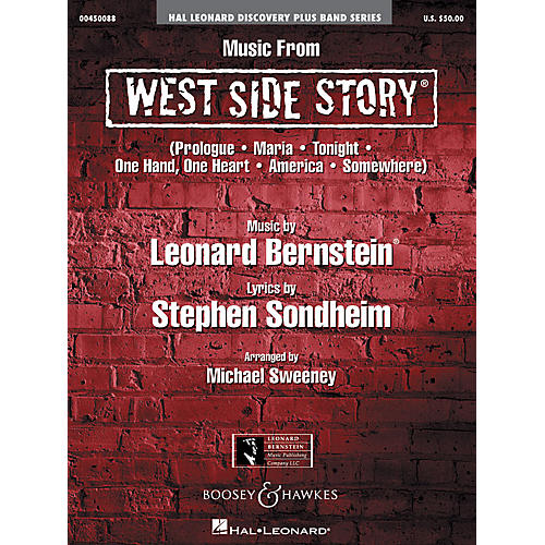 Hal Leonard Music from West Side Story Concert Band Level 2 Arranged by Michael Sweeney