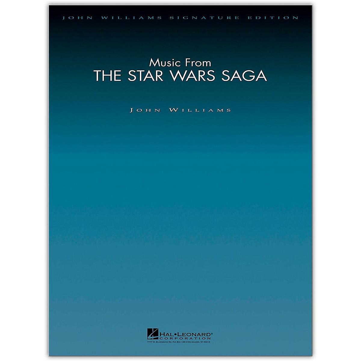 Hal Leonard Music from the Star Wars Saga - John Williams Signature Edition Orchestra Deluxe Score